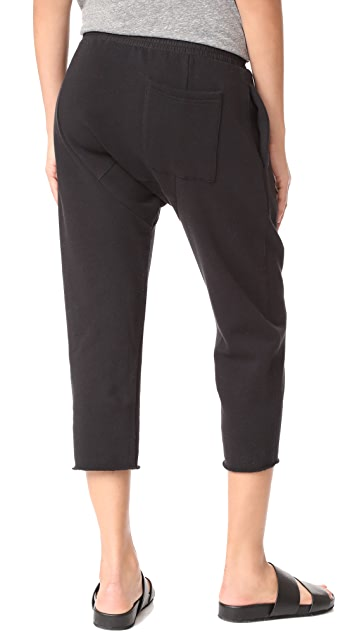 Oak Cropped Karate Sweatpants