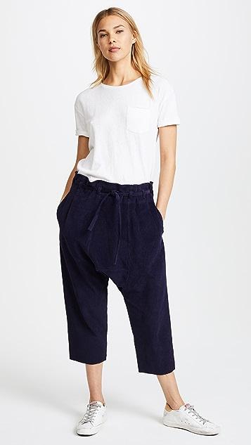 Oak Cropped Karate Pants