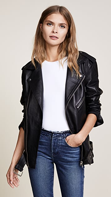 Oak LA Roamer Leather Jacket
