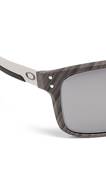 Oakley Holbrook Woodgrain PRIZM Sunglasses