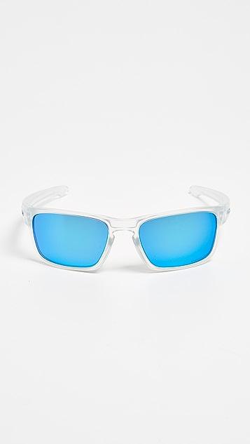 Oakley Silver Stealth Sunglasses