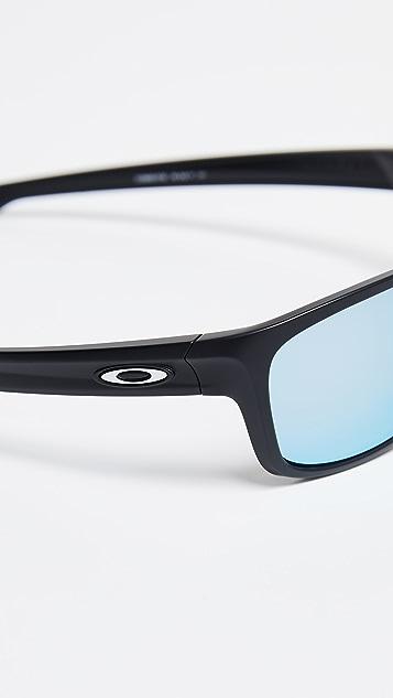 Oakley Silver Stealth Polarized Sunglasses