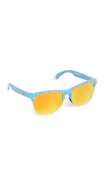 Oakley Frogskins Lite Splatter Sunglasses
