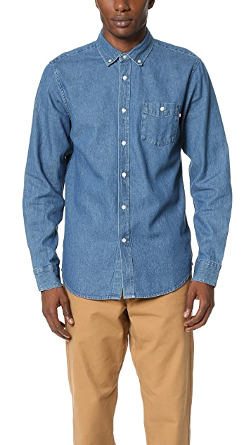 Obey Keble Denim Shirt