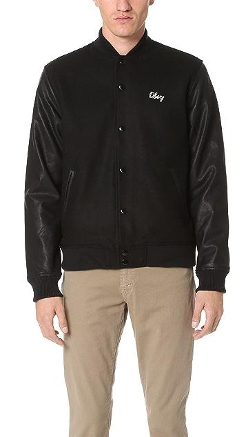 Obey Soto Collegiate Jacket