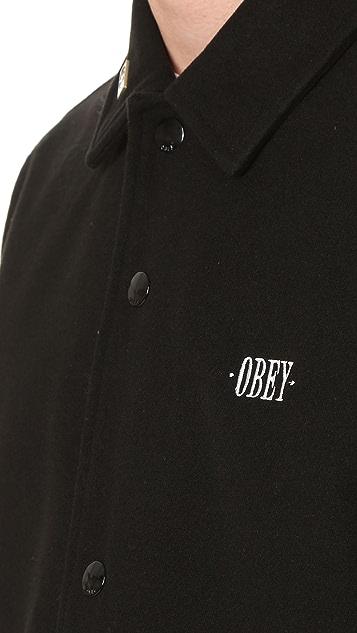 Obey Lurker Coach Jacket