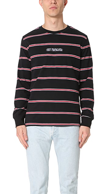 Obey Edgeware Long Sleeve Tee