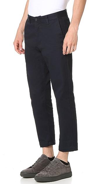 Obey Straggler Flooded Pants
