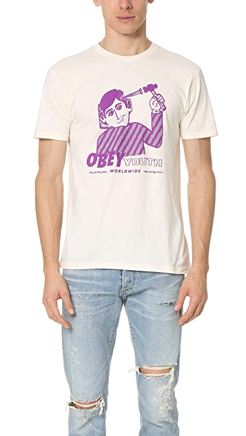 Obey Obey Youth Tee
