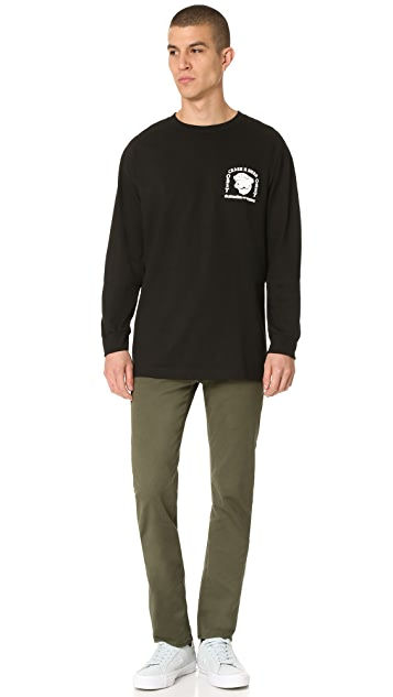 Obey Crash N Burn Long Sleeve Tee