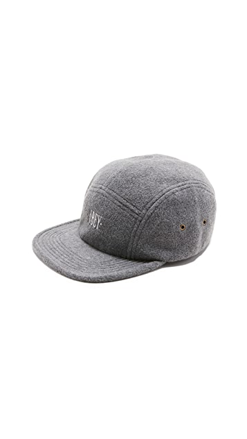 Obey Morrison Fleece 5 Panel Cap