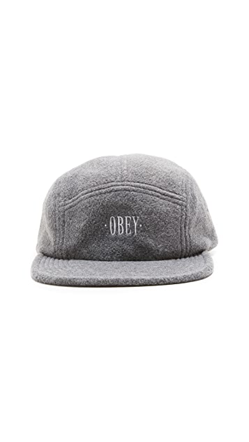 Obey Morrison Fleece 5 Panel Cap