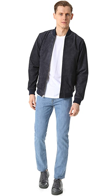 Obey Clifton Suede Jacket
