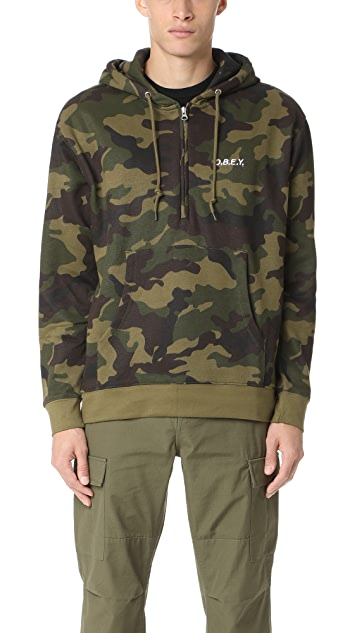Obey Ennet Anorak Pullover