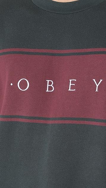 Obey Roebling Crew Sweatshirt