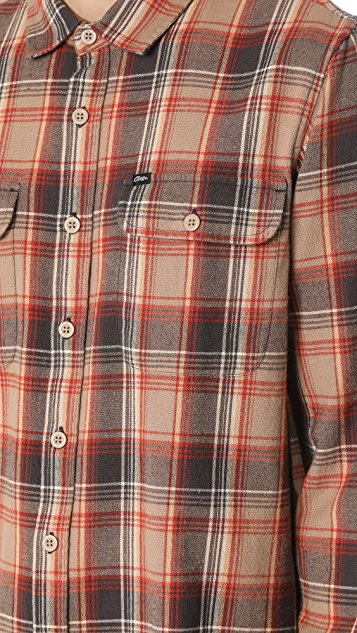 Obey Marvyn Woven Flannel Shirt