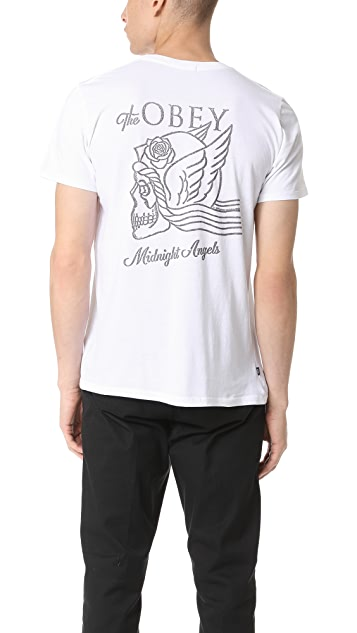 Obey Midnight Angels Tee