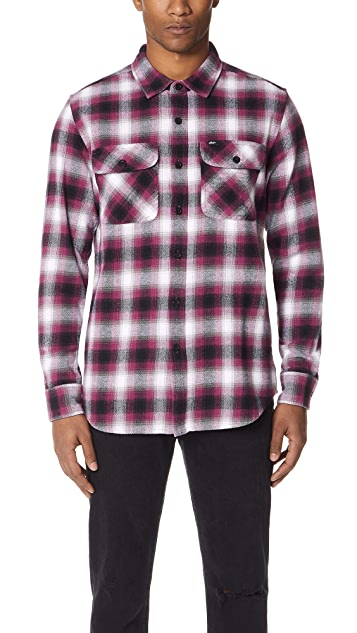 Obey Mission Woven Shirt
