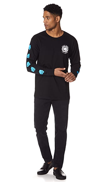 Obey Global Annihilation Long Sleeve Tee