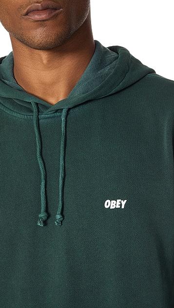 Obey Jumble Lo Fi Zip Hoodie