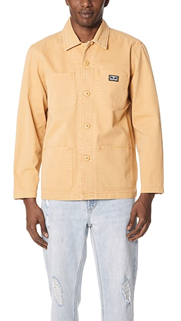 Obey Hard Work Jacket