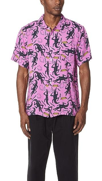 Obey Salzar Woven Short Sleeve Shirt