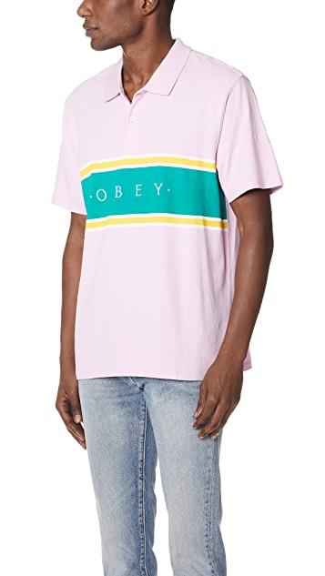Obey Palisade Polo Shirt