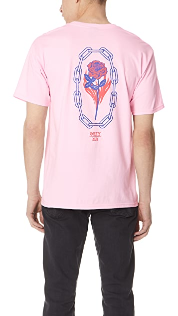 Obey Rosette Never Made Short Sleeve Tee