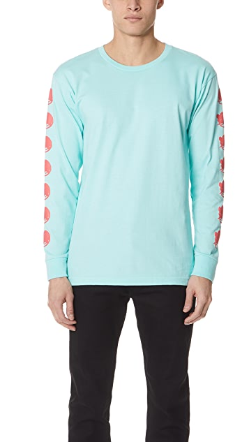Obey Wall of Death Never Made Long Sleeve Tee