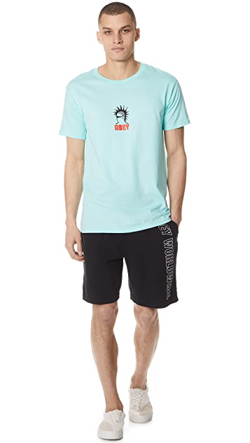 Obey Heavy Duty Creep Short Sleeve Tee