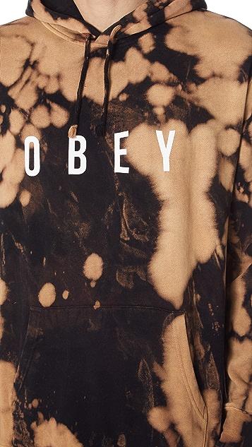 Obey Anyway Bleached Hoodie