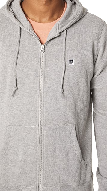 Obey Eighty Nine Icon Zip Hoodie