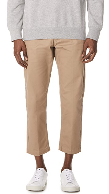 Obey Straggler Flooded Pants