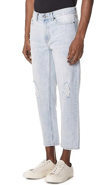 Obey Bender '90s Destroyed Jeans