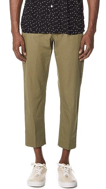 Obey Straggler Light Flooded Pants