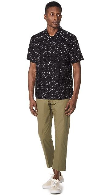 Obey Pumps Button Down Shirt