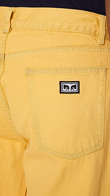 Obey Blender Overdyed Jeans