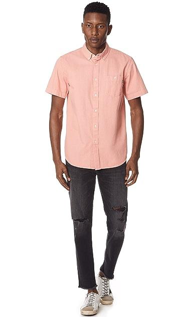Obey Keble Button Down Shirt