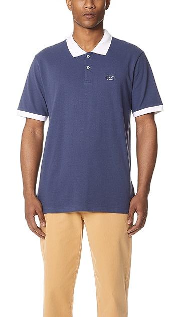 Obey No Coast Polo Shirt