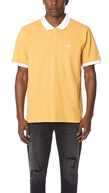 Obey No Coast Polo Shirt