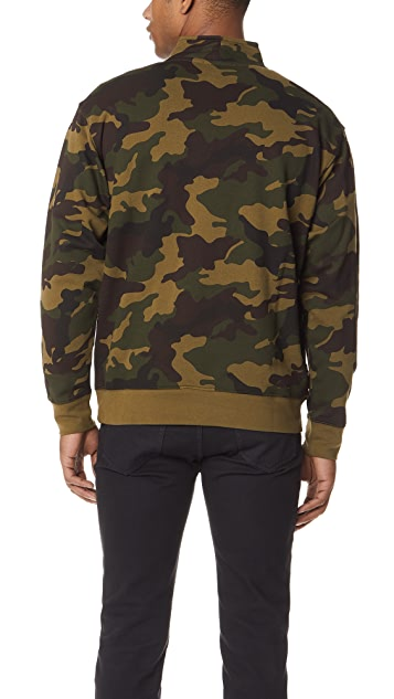 Obey Automatic Mock Neck Pullover