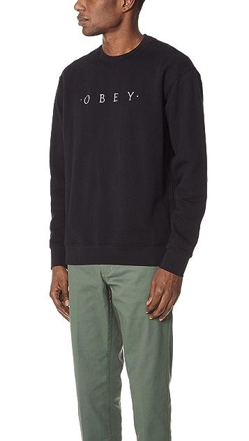 Obey Div Sweatshirt