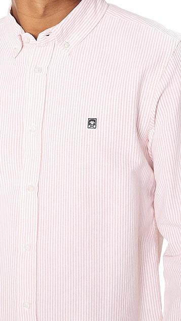 Obey Eighty Nine Stripes Shirt