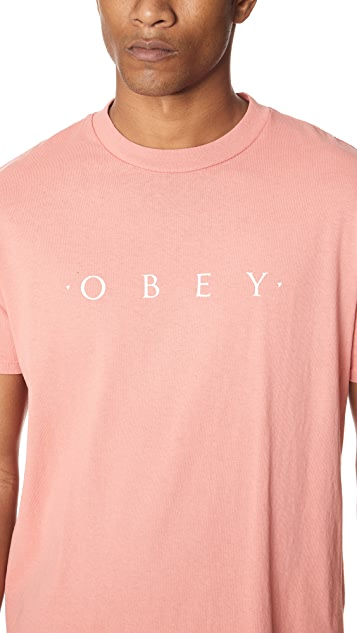 Obey Novel Tee