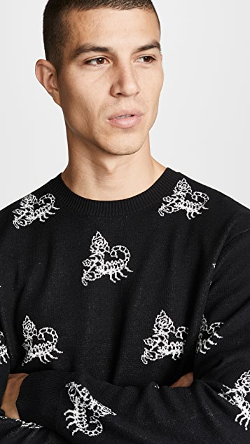 Obey Scorpion Sweater
