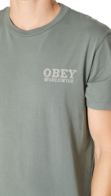 Obey Patch It Up Steel Tee
