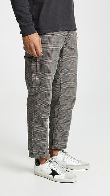 Obey Straggler Plaid Carpenter Pants