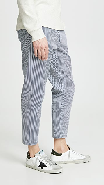 Obey Straggler Stripe Pants