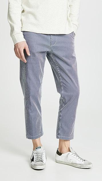 Obey Straggler Stripe Pants