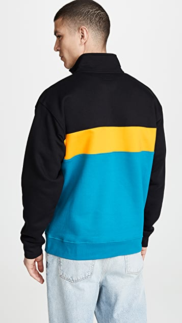 Obey Chelsea Mock Neck Fleece